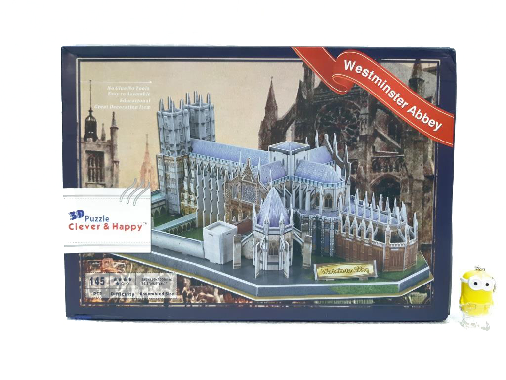 3d пазл na-na ie631 westminster abbey 145 деталей